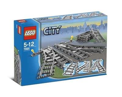 Изображение Lego 7895 Железнодорожные стрелки