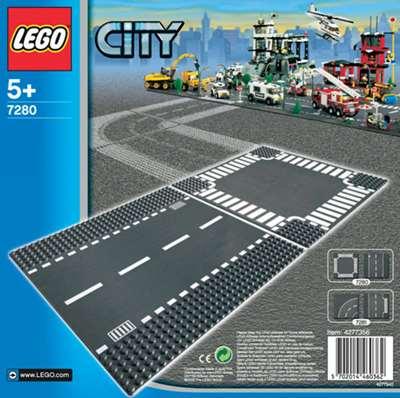 Изображение Lego 7280 Перекресток и прямая дорога