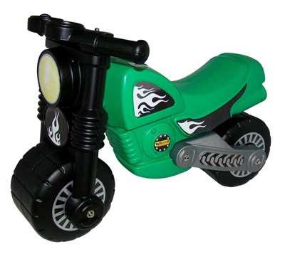 """Изображение Мотоцикл """"Моторбайк """" зелёный Арт.40480"""