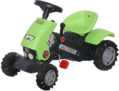 "Изображение Каталка-трактор с педалями ""Turbo-2"" Арт.52735"