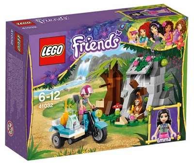 Изображение Джунгли: Мотоцикл первой помощи Lego 41032