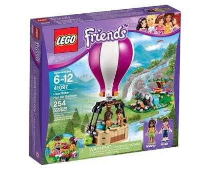 Изображение Воздушный шар Хартлейк Сити Lego 41097