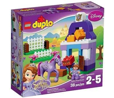 Изображение София Прекрасная: Королевская конюшня Lego 10594