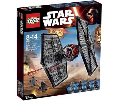 Изображение Истребитель особых войск Первого Ордена Lego 75101