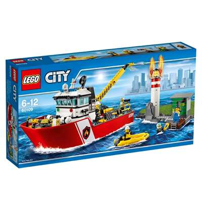 Изображение Пожарный катер Lego 60109