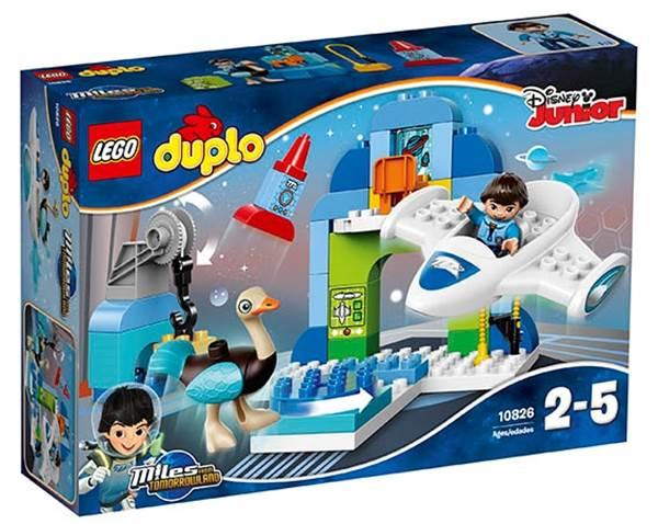 Изображение Майлз и его ангар для Стеллосферы Lego 10826