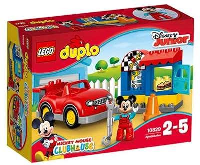 Изображение Мастерская Микки Lego 10829