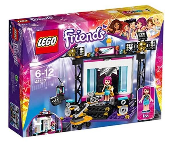 Изображение Поп-звезда: телестудия Lego 41117