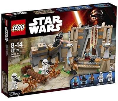 Изображение Битва на планете Такодана Lego 75139