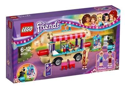 Изображение Парк развлечений: фургон с хот-догами Lego 41129