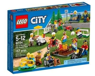 Изображение Праздник в парке - жители Лего Сити Lego 60134