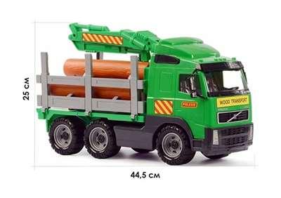 """Изображение """"Volvo"""", автомобиль-лесовоз Арт.8756"""