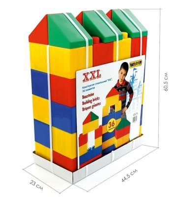 Изображение Конструктор строительный XXL, 36 элементов Арт. 37527