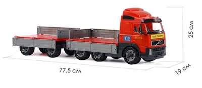 """Изображение """"Volvo"""", автомобиль бортовой с прицепом  Арт.9487"""