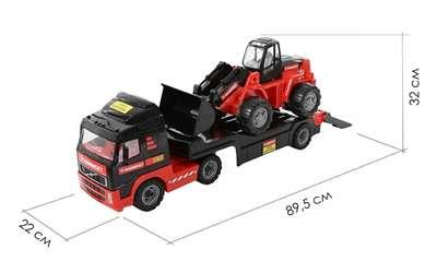 """Изображение 204-01 """"MAMMOET VOLVO"""", автомобиль-трейлер + трактор-погрузчик Арт.56733"""