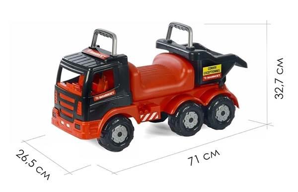 """Изображение 200-02 """"MAMMOET"""", автомобиль-каталка + каска + совок №23 + грабли №23 + лопата №23 Арт.57082"""
