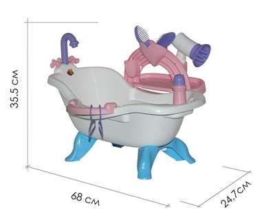 Изображение Набор для купания кукол №3 с аксессуарами (в пакете) Арт.47267