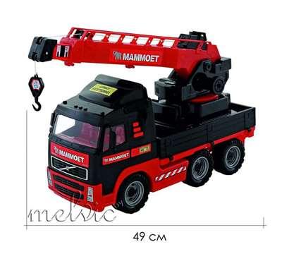 """Изображение 203-01 """"MAMMOET VOLVO"""", автомобиль-кран с поворотной платформой Арт. 56979"""