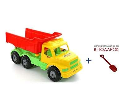 """Изображение """"Буран"""" №1, автомобиль-самосвал (жёлто-красный) Арт. 43627"""