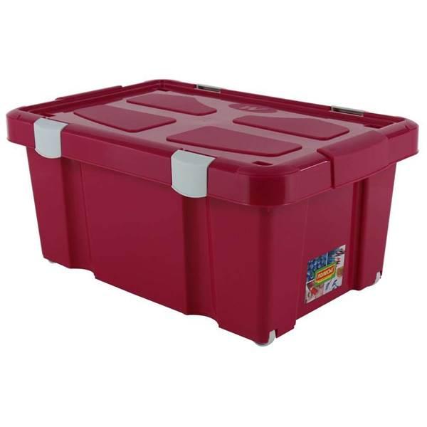 Изображение Ёмкость №51 для хранения на колёсиках с крышкой , 620х430х270 мм, 45 литров Арт. 52100