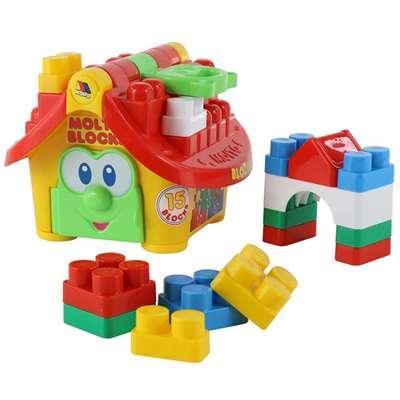"""Изображение Логический домик """"Маленький строитель"""" (в сеточке) Арт. 9646"""