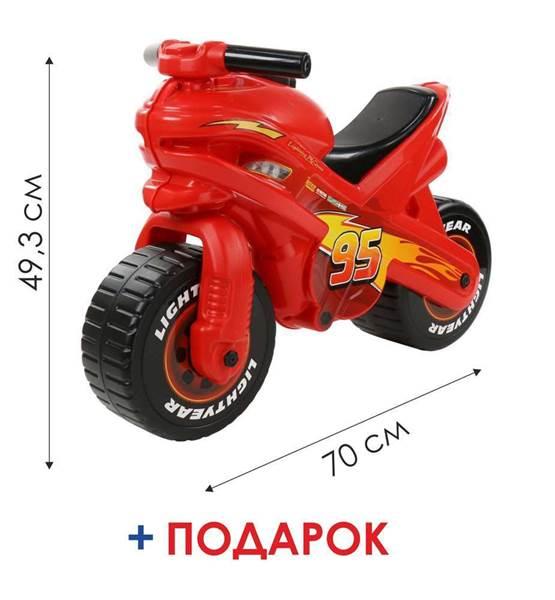 """Изображение Мотоцикл Disney/Pixar """"Тачки"""" (в коробке) Арт.70548"""