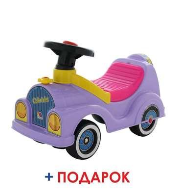 """Изображение Каталка-автомобиль """"Кабриолет"""" (со звуковым сигналом) Арт.7963"""