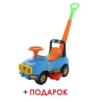 Изображение Автомобиль Джип-каталка с ручкой Арт. 62901