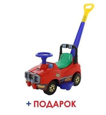 Изображение Автомобиль Джип-каталка с ручкой Арт. 62918