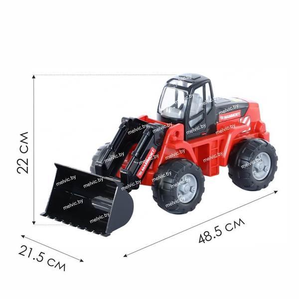 """Изображение 207-02 """"MAMMOET"""", трактор-погрузчик (в коробке) Арт. 56849"""
