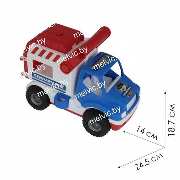 """Изображение """"КонсТрак - жандармерия"""", автомобиль (в коробке) Арт. 46536"""