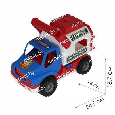 """Изображение """"КонсТрак - спасательная команда"""", автомобиль (в коробке) Арт. 41937"""