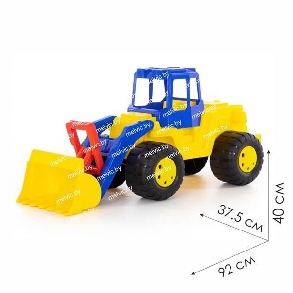 """Изображение """"Великан"""", трактор-погрузчик Арт. 38081"""