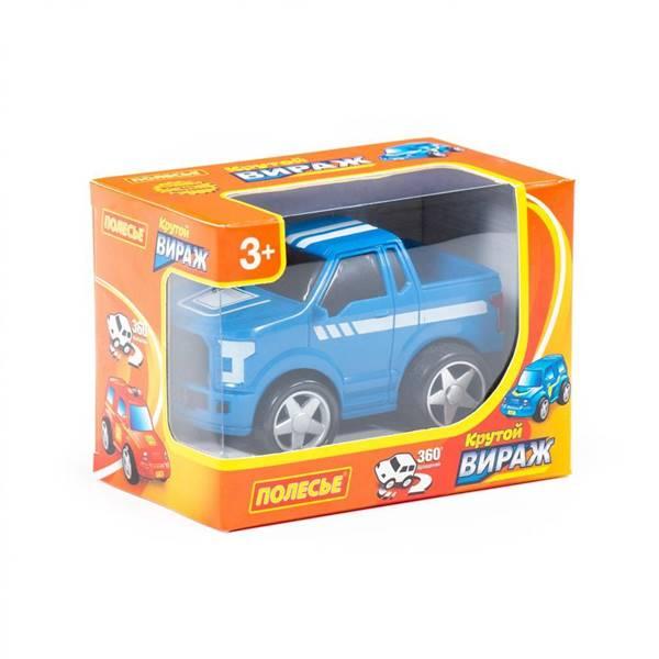 """Изображение """"Крутой Вираж"""", автомобиль гоночный №2 инерционный (синий) Арт. 78926"""