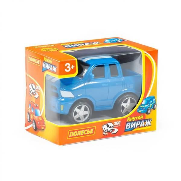 """Изображение """"Крутой Вираж"""", автомобиль гоночный №3 инерционный (синий) Арт. 78933"""