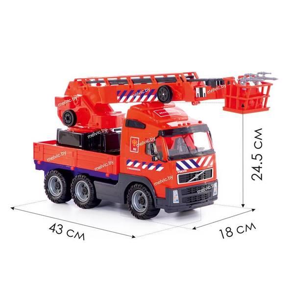 """Изображение """"Volvo"""", автомобиль пожарный (NL) (в сеточке) Арт. 77301"""