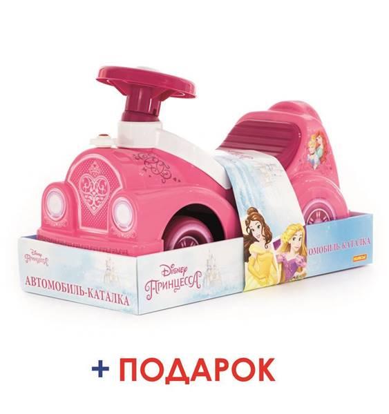 """Изображение Автомобиль-каталка Disney """"Принцессы"""" (в лотке) Арт. 70784"""