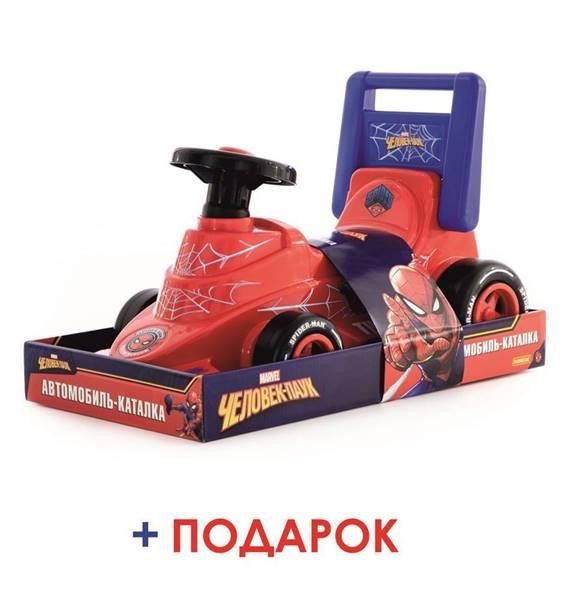 """Изображение Автомобиль-каталка Marvel """"Человек-паук"""" Арт. 70685"""