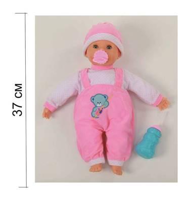 """Изображение Кукла """"Пупс"""": озвученная, сосёт соску, пьёт из бутылочки Арт. 38442"""