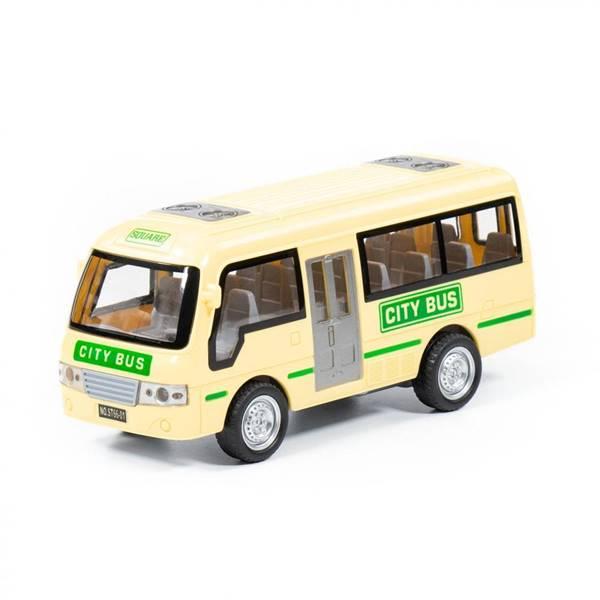 Игрушка Полесье. Автобус инерционный.