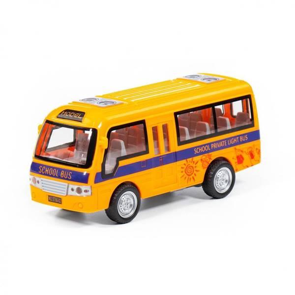 """Изображение """"Школьный автобус"""", автомобиль инерционный  Арт. 78971"""