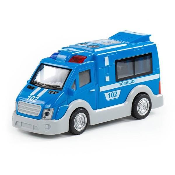 """Изображение """"Полиция"""", автомобиль инерционный   Арт. 79664"""