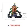 """Изображение Паркинг 5-уровневый """"Autopark"""" с дорогой и автомобилями (в коробке) Арт.38104"""