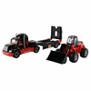 """Изображение 206-03 """"MAMMOET"""", автомобиль-трейлер + трактор-погрузчик (в лотке) Арт. 57129"""