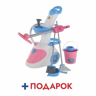 """Изображение Набор """"Помощница-5"""" ( с пылесосом) (в пакете) Арт. 54999"""
