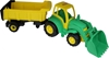 """Изображение """"Чемпион"""", трактор с ковшом и полуприцепом Арт.0438"""